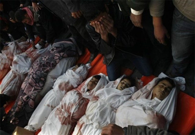 خون از رگ غزه سرریز میکند