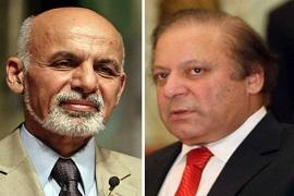 رییس جمهورغنی نخست وزیر پاکستان را به کابل دعوت کرد