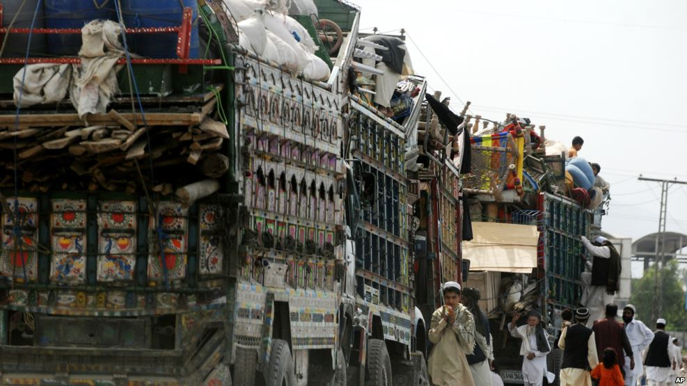 په یوه اوونۍ کې ۲۰۲۹کډوالې کورنۍ له پاکستانه راغلې
