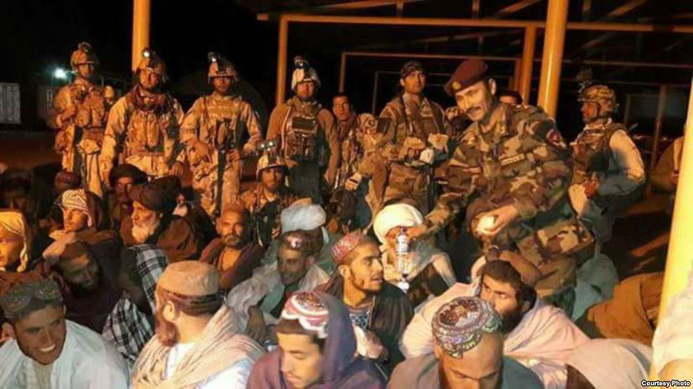 افغان ځواکونو هلمند کې د طالبانو له زندان ۳۶ تنه راخوشي کړل