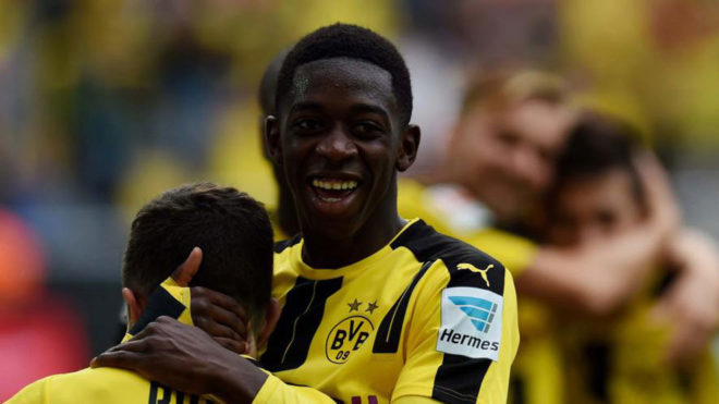رای زیدان به عثمان برای بهترین فوتبالیست سال فرانسه