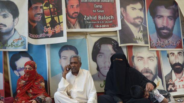 پاکستان کې ٦٦٧ بلوڅان ورک او ١١٦ وژل شوي