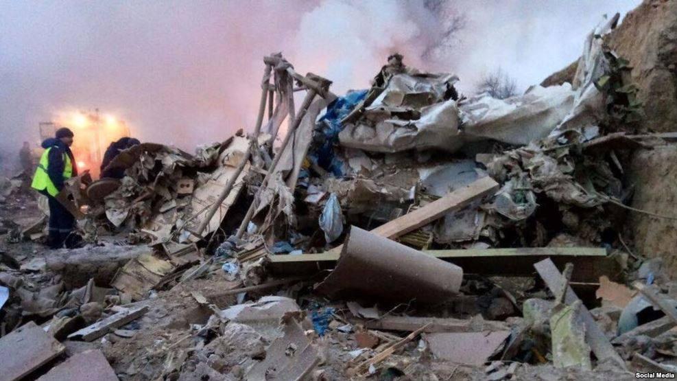درنتیجه سقوط هوایپمایی ترکیه ۳۲نفر کشته شدند