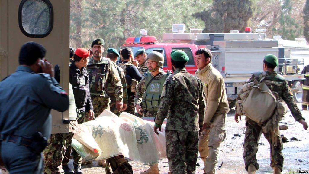 افغان چارواکو وملنه چې هلمند کې د هوايي برید پر مهال ولسي وګړي وژل شوي