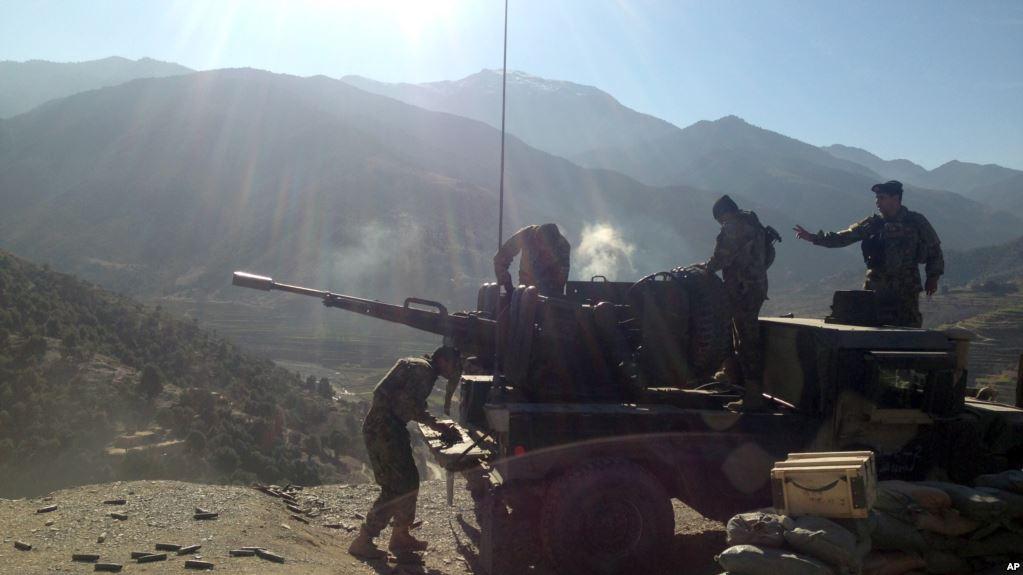 لوړپوړي افغان امنیتي چارواکي ننګرهار ته ولاړل