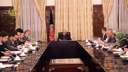 کمیسیون تدارکات ملی ۴ قرارداد به ارزش ۲۷۰ میلیون افغانی را تایید کرد