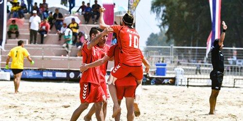 تیم ملی فوتبال ساحلی افغانستان ۷- ۲ چین را از پیش رو برداشت