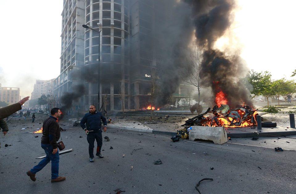 مصر کې یوې چاودنې ۱۳ پولیس وژلي دي
