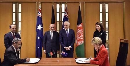 استرالیا ۳۲۰ میلیون دالر به افغانستان کمک میکند