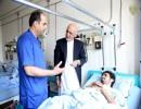 رییس جمهور عید سعید فطر را به مجروحین و مریضان داخل بستر تبریک گفت