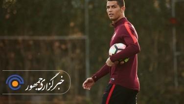رونالدو برابر عربستان سعودی  به میدان می رود