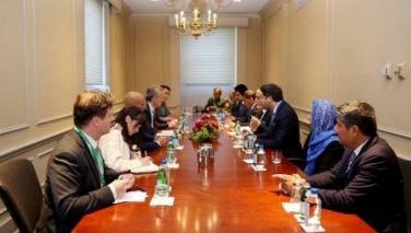 دیدار رییس اجرایی با دبیرکل ناتو؛ استولتنبرگ قهرمانیهای نیروهای امنیتی در برابر تروریستان را ستود
