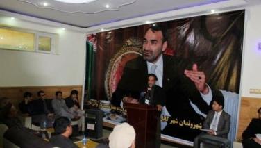 مردم افغانستان استاد عطا را در برابر دسیسههای ارگ تنها نخواهند گذاشت