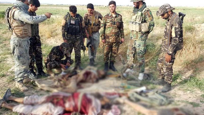ارتش فراه اسامی فرماندهان کشته شده طالبان را منتشر کرد