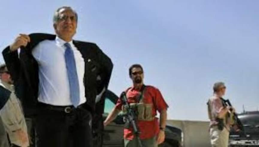 زلمی خلیلزاد نماینده ویژه امریکا وارد کابل شد