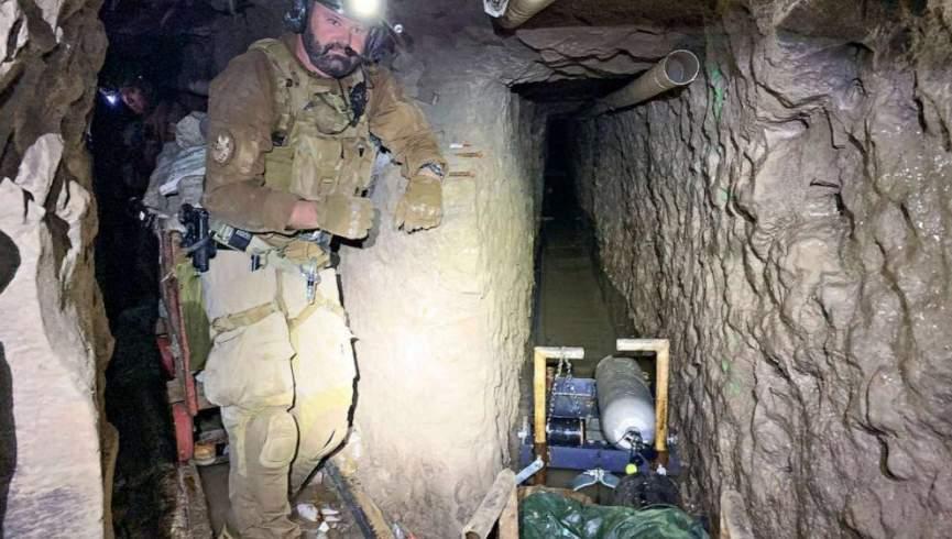 کشف طولانیترین تونل قاچاق مواد مخدر در مرز امریکا و مکزیک