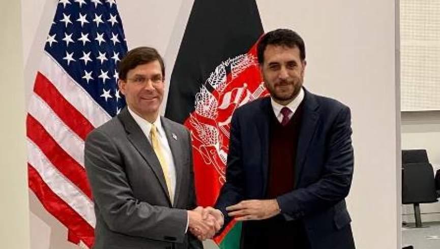 دیدار وزیران دفاع افغانستان و امریکا؛ همکاری و پشتیبانی امریکا از نیروهای امنیتی افغان ادامه مییابد