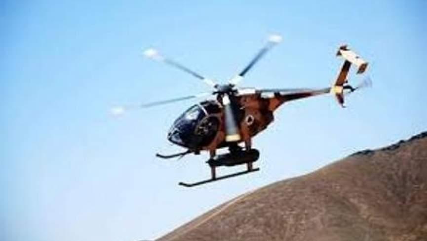 یک چرخبال نظامی در ولایت نیمروز نشست اضطراری کرد