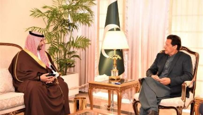 معاون وزیر دفاع عربستان با نخست وزیر پاکستان دیدار کرد