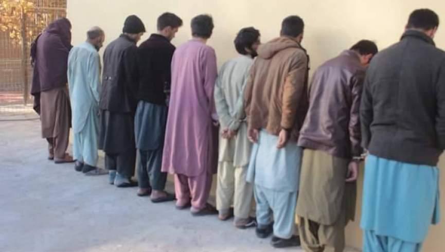 بازداشت 9 نفر به جرم ارتکاب جنایات مختلف در فرا