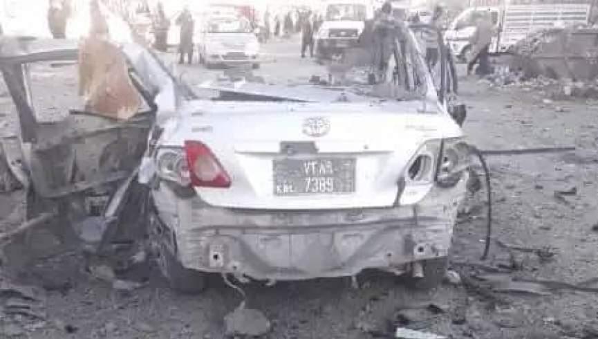 معاون اداره انسجام وزارت امور در انفجار در کابل زخمی شد
