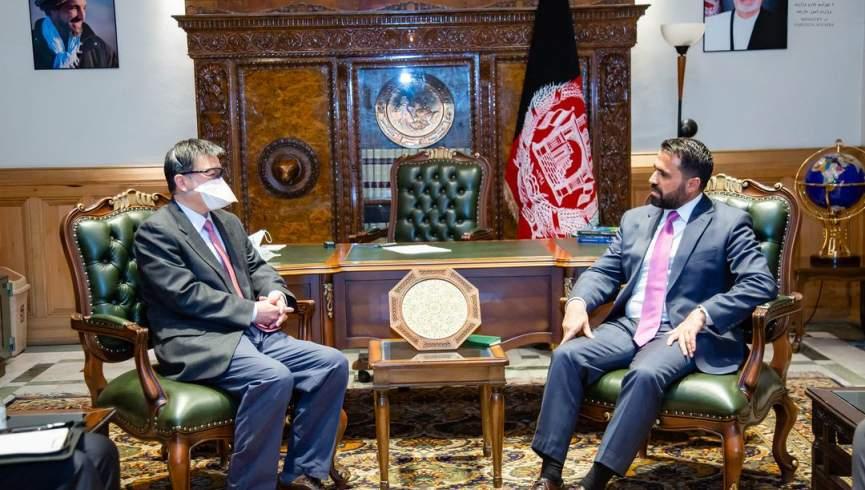 معاون وزیر امور خارجه با سفیر چین در کابل دیدار کرد