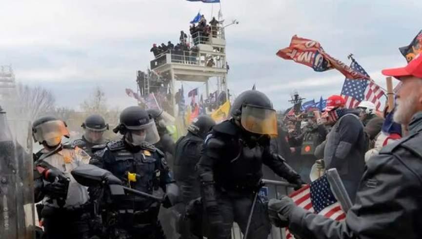 اعتراض یا شورش؟  چهار نفر در مقابل کنگره آمریکا کشته شدند
