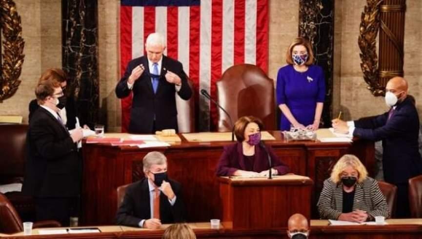 کنگره آمریکا پیروزی جو بایدن را رسماً تأیید کرد
