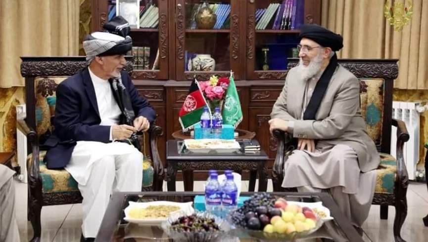 صلح با گلبدین ، نسخه اشرف غنی در مورد صلح با طالبان