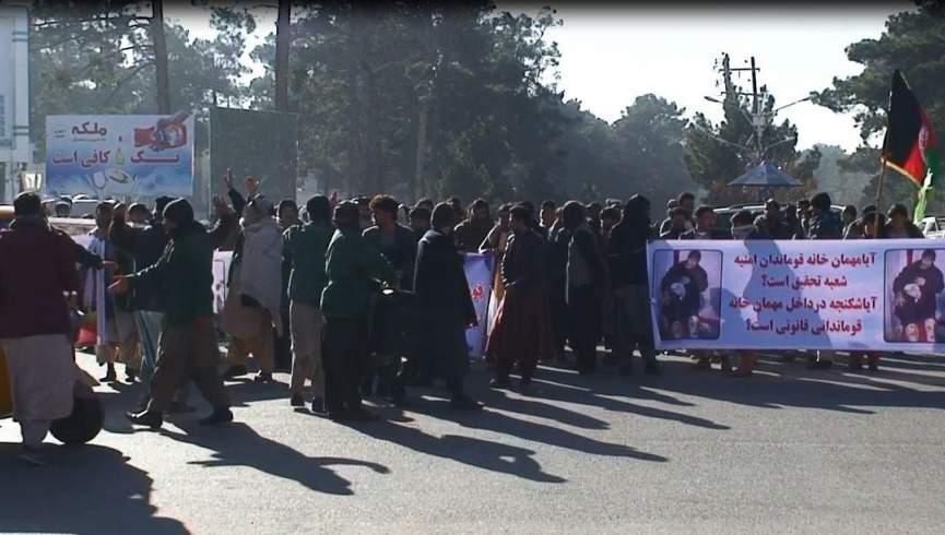 نزدیکان دو نفر به شکنجه علیه فرمانده پلیس هرات / فرمانده پلیس اعتراض کردند: دستگیر شدگان به هیچ وجه مورد ضرب و شتم قرار نگرفتند