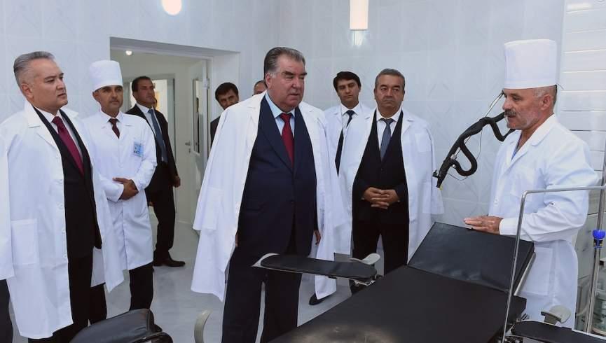 بیمارستانهای تاجیکستان از بیماران کرونر خالی است