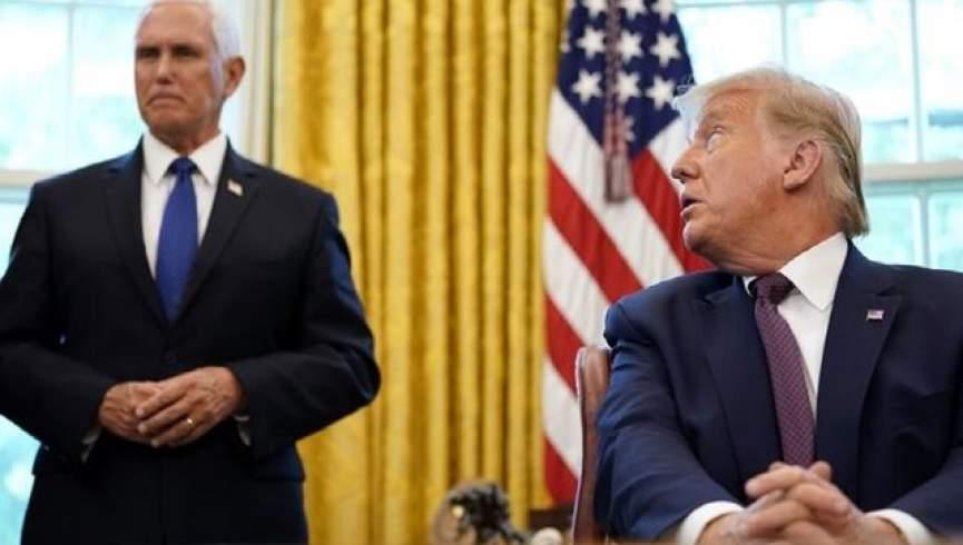 اولین گفتگوی ترامپ و پنس از قیام 6 ژانویه