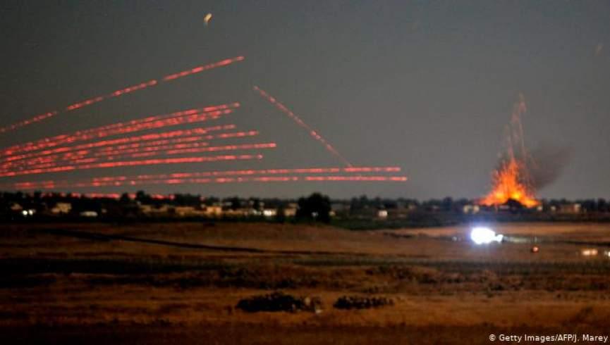 شمار کشته های حمله اسرائیل در سوریه به 57 نفر رسیده است
