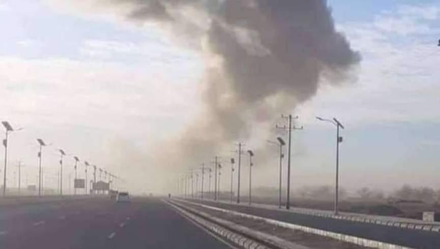 حمله انفجاری در ولسوالی دامان قندهار