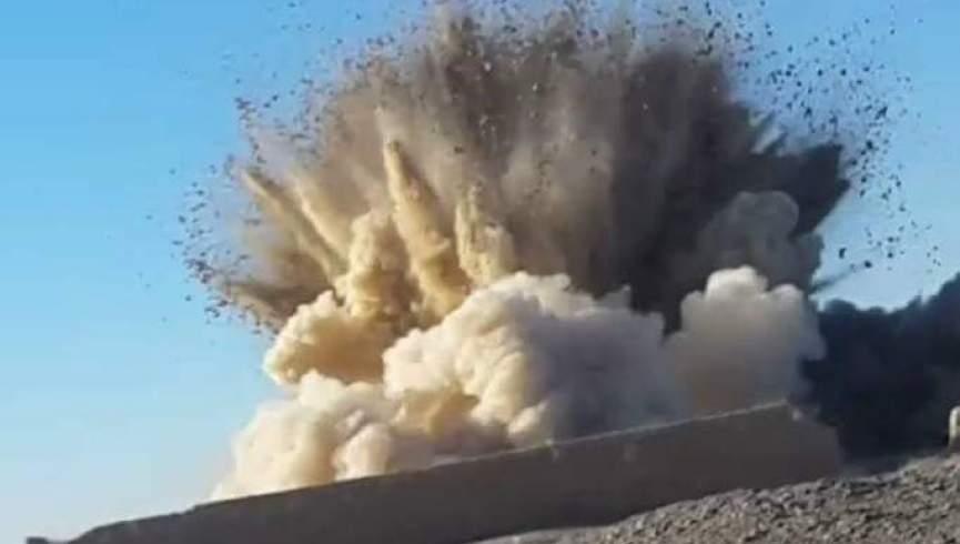 یک بمب خودرویی طالبان در فاریاب منفجر شد