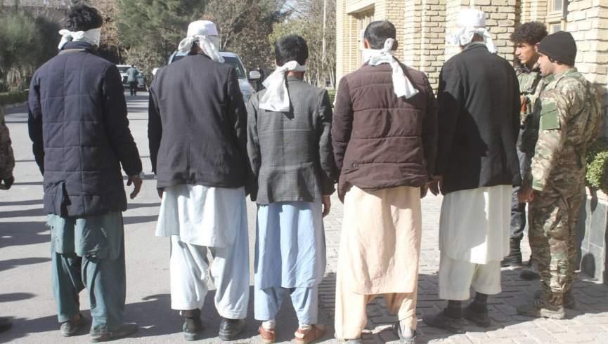 انحلال باند 5 نفره آدم ربایی در هرات
