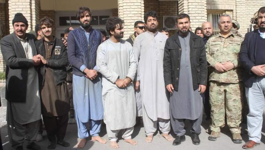 آزادی چهار نفر از چنگ آدم ربایان در هرات / 12 نفر در رابطه با این پرونده دستگیر شدند