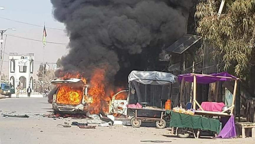 ده نفر از جمله یک روزنامه نگار در انفجار ارزگان زخمی شدند