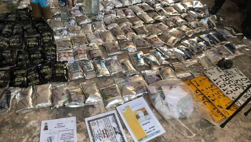 یک کارخانه تولید مشروبات الکلی در هرات نابود شد