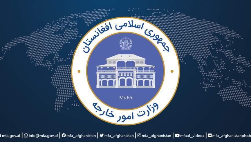 وزارت امور خارجه: دولت افغانستان سفر هیئت طالبان به ایران را یادداشت کرد