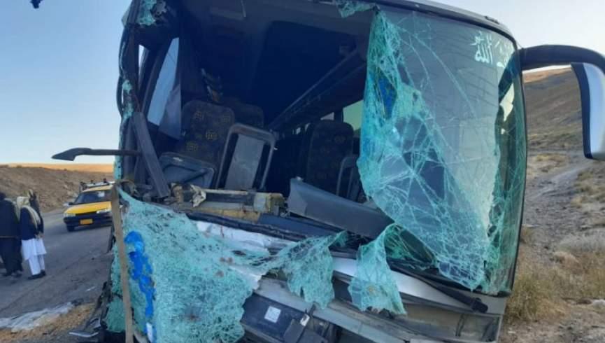 تصادف جاده ای در هرات-قندهار / حداقل 20 نفر کشته شدند
