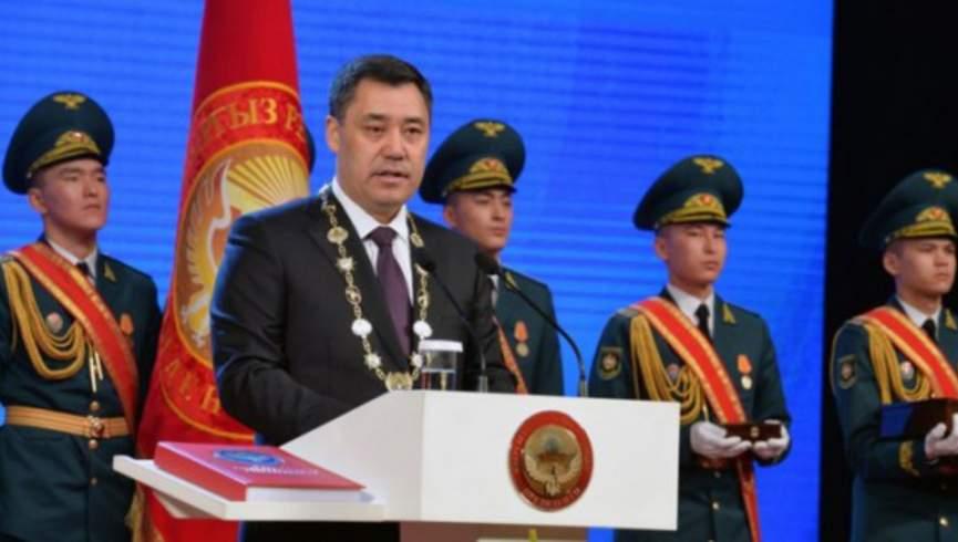 رئیس جمهور منتخب قرقیزستان سوگند یاد کرد