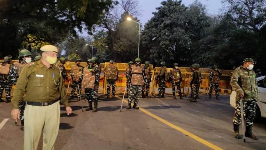 بمبی در نزدیکی سفارت اسرائیل در هند منفجر می شود