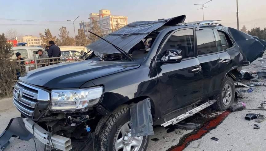 ماشینی با رئیس خدمات صلح دولت منفجر شد