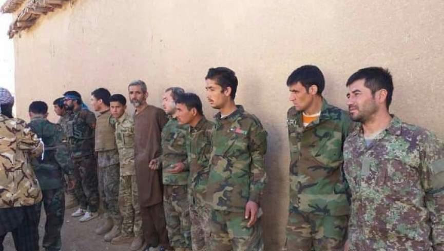 نیروهای ارتش در طالبان در فاریاب اسیر شدند