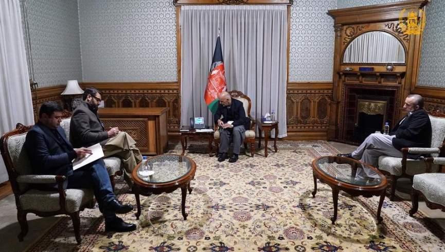 مکالمه تلفنی اشرف غنی با وزیر دفاع ایالات متحده ؛  واشنگتن از صلح پایدار به نفع افغانها حمایت می کند