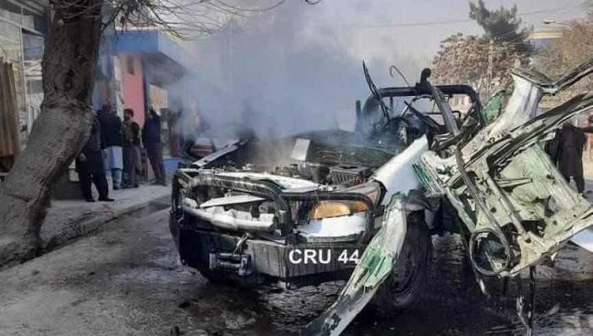 انفجار دوم امروز در کابل.  یک پلیس کشته شد