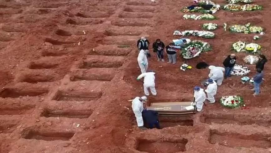 بدترین روز تاج در برزیل ؛  بیش از 4000 نفر یک شبه جان خود را از دست دادند