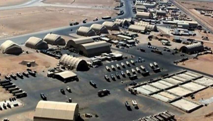آخرین حملات هوایی به پایگاه عین الاسد آمریکا در عراق