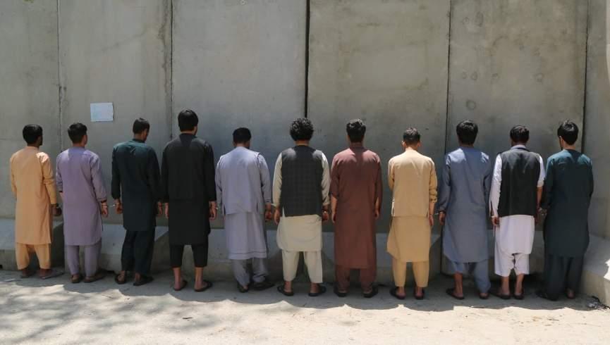 یازده نفر به جرم ارتکاب جنایت توسط پلیس کابل دستگیر شدند